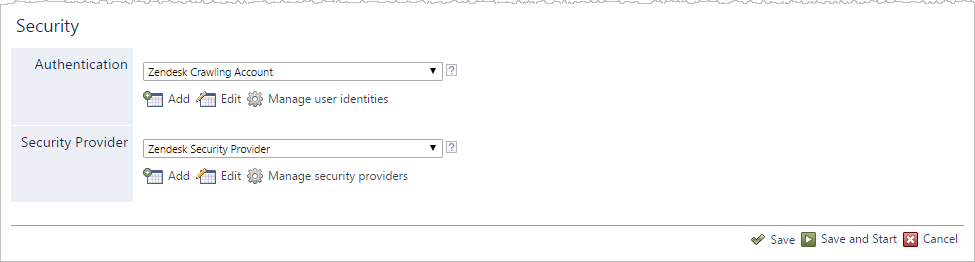 Configuring and Indexing a Zendesk Source - Coveo Platform 7