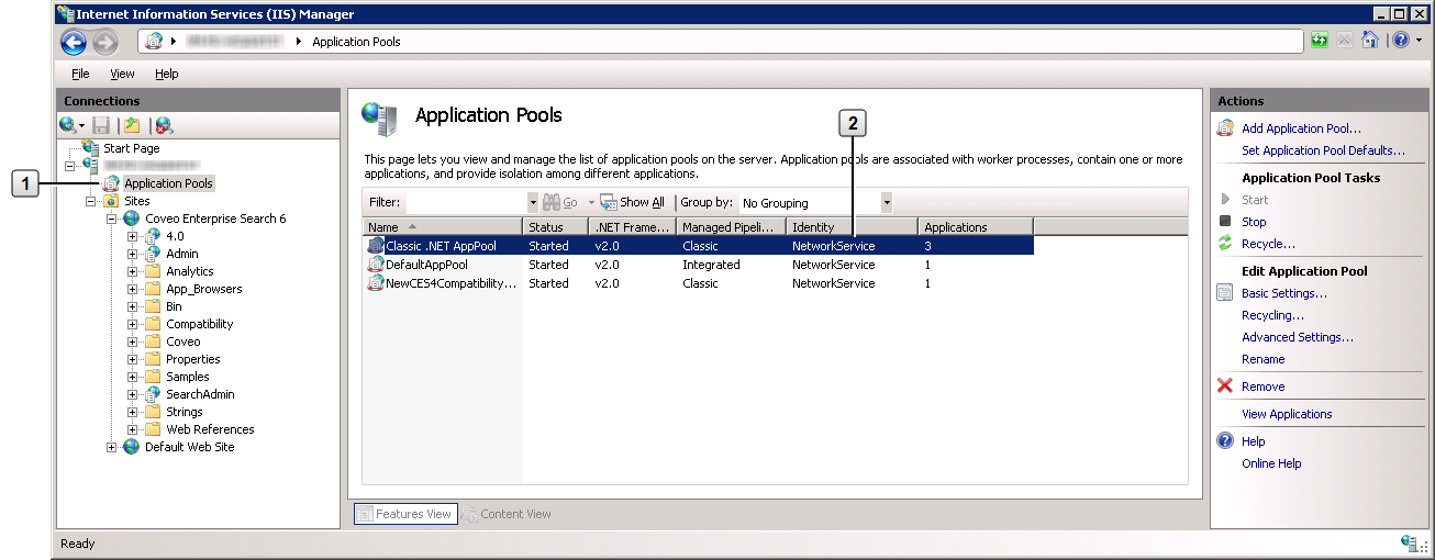 Finding the Name of the User that Runs a Process in IIS