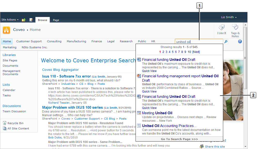 Coveo Search Box in SharePoint - Coveo Platform 7 - Online Help
