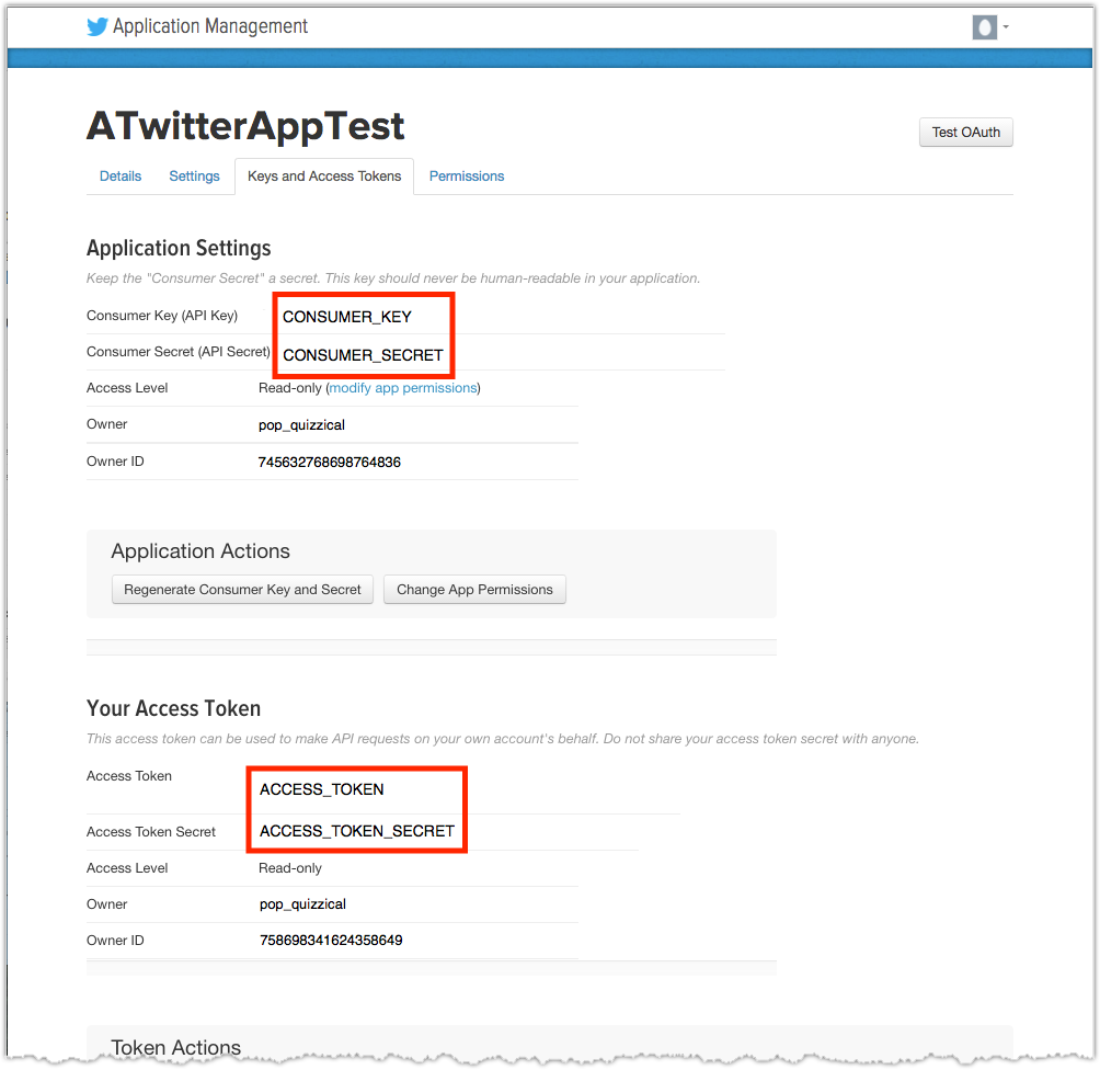 Obtaining the Twitter API and Access Token - Coveo Platform